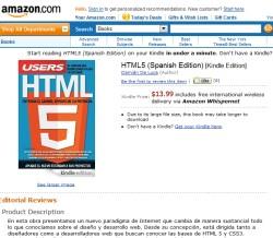 Libro HTML5 en Amazon